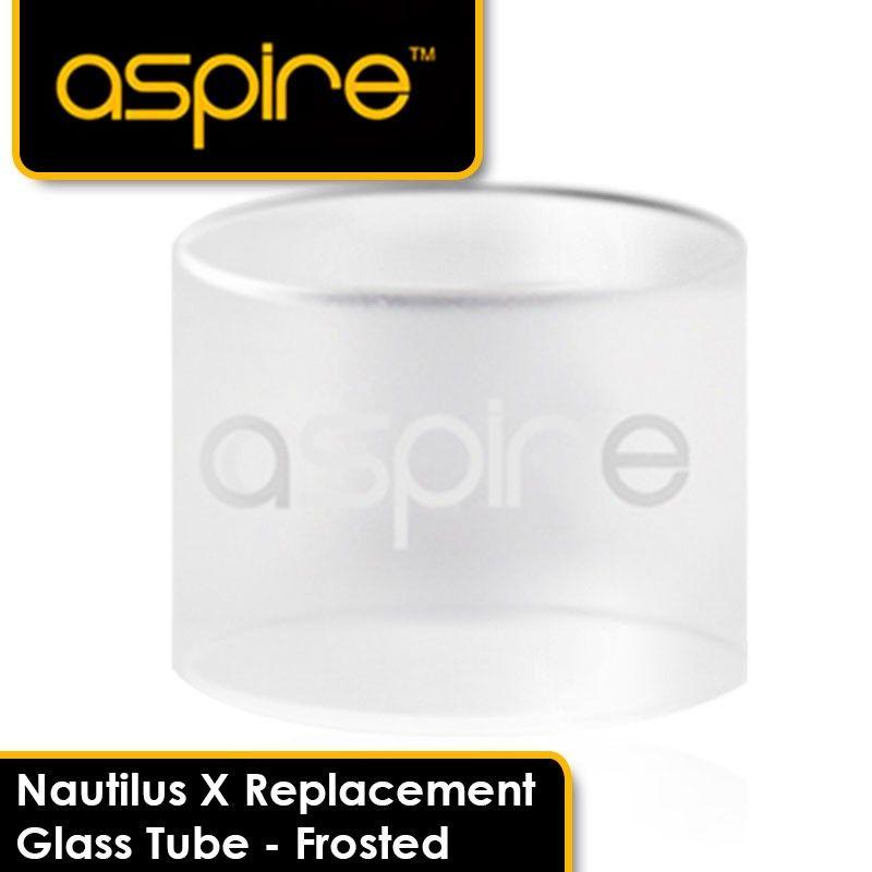 Náhradné sklenene telo pre Aspire NAUTILUS X - matné