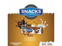 ČOKOLÁDOVÁ TYČINKA S ORIEŠKAMI / Choconuts - aróma Snacks 10 ml