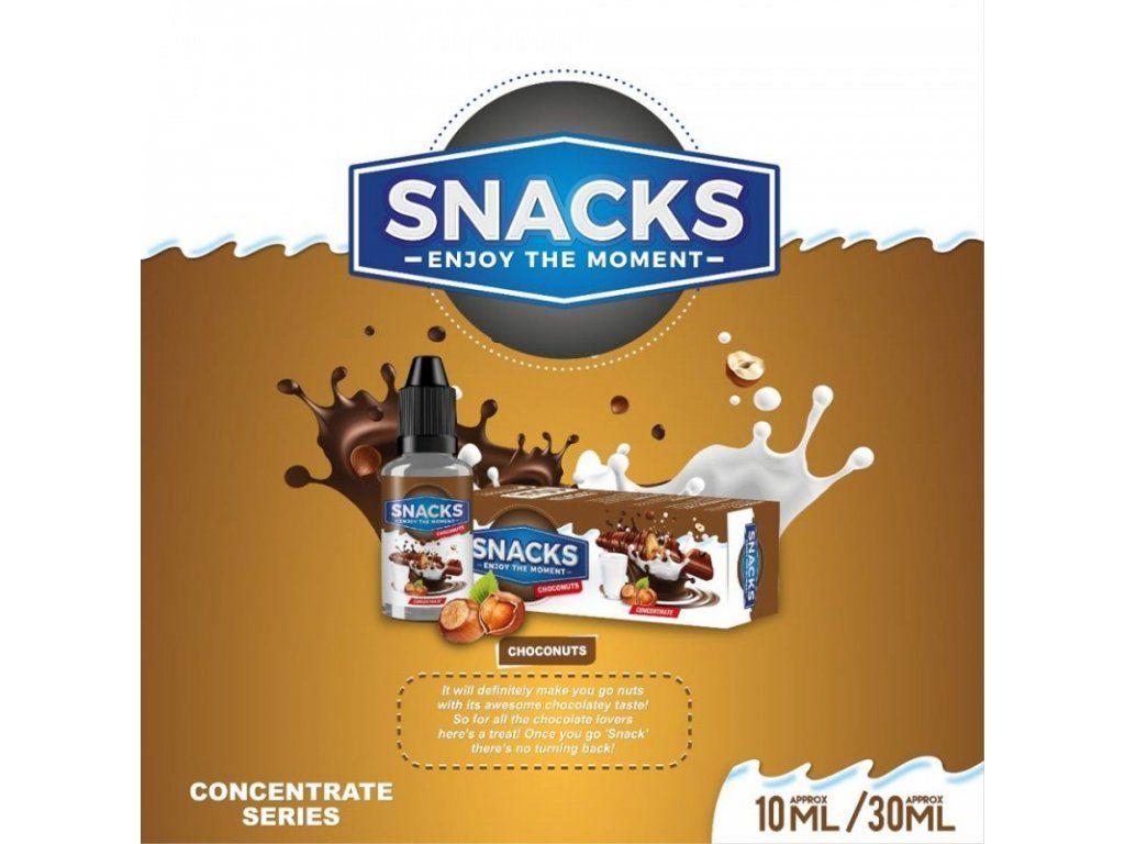 ČOKOLÁDOVÁ TYČINKA S ORIEŠKAMI / Choconuts - aróma Snacks