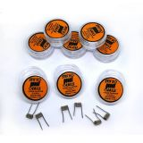 Stif Meister FUSED CLAPTON 2*0,3/0,1 SS316L/N80 - 2 ks Hand made