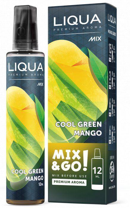 CHLADIVÉ MANGO / Cool Green Mango - LIQUA Mix&Go 12ml Ritchy Group