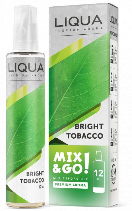 ČISTÝ TABAK / Bright Tobacco - LIQUA Mix&Go 12ml Ritchy Group