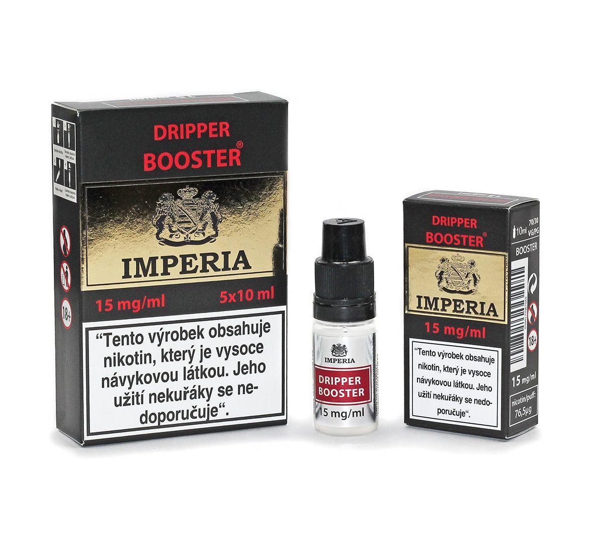 IMPERIA Dripper Booster 15mg - 5x10ml (30PG/70VG)