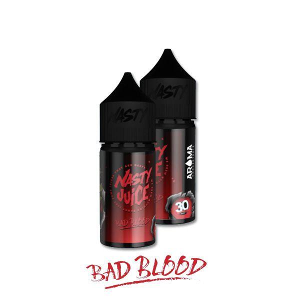 BAD BLOOD /čierne ríbezle a mentol/ - aróma Nasty Juice 30 ml