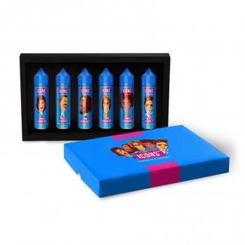 Icons darčekové balenie 6x20ml - aróma Pro Vape Icons shake & vape