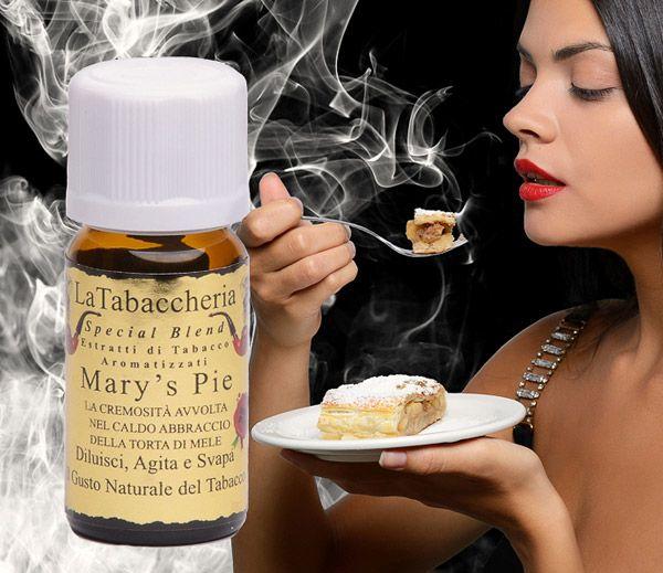 MARY´S PIE (Jablkový závin) - aróma La Tabaccheria Special Blend
