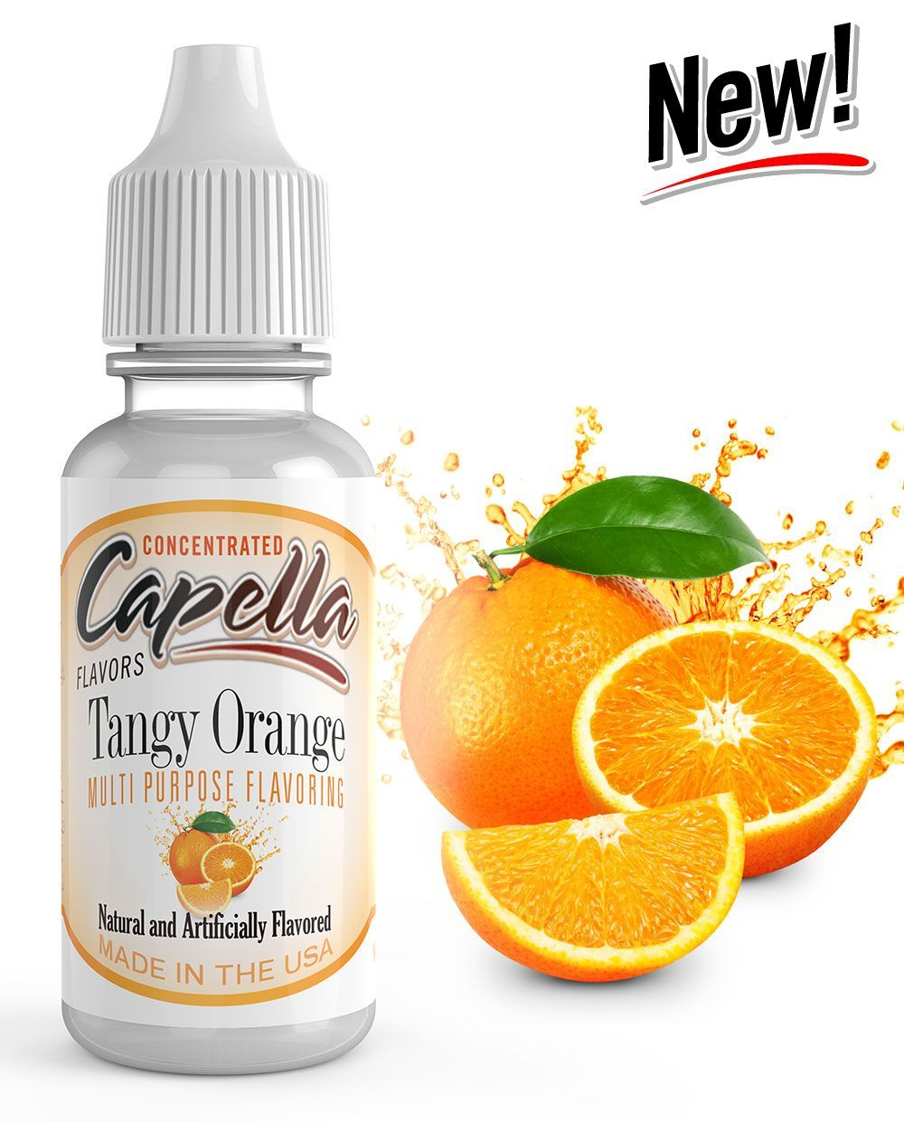 ŠŤAVNATÝ POMARANČ / Tangy Orange - Aróma Capella 13 ml