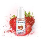 JAHODA (Strawberry) - e-liquid FLAVOURTEC 10ml exp.:5/19