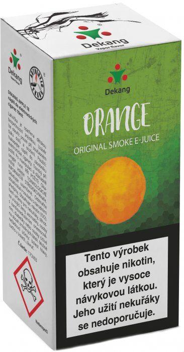 POMARANČ - Orange - Dekang Classic 10 ml