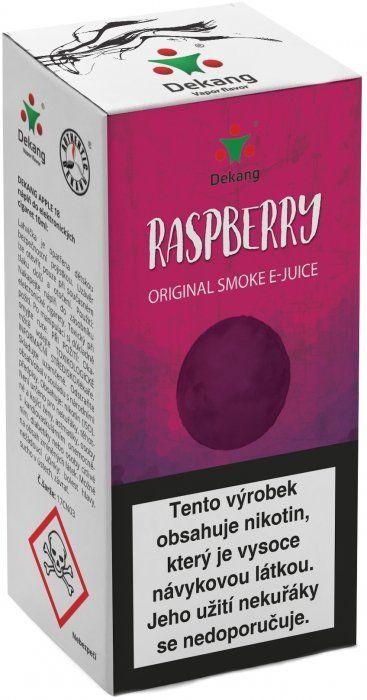 MALINY - Raspberry - Dekang Classic 10 ml