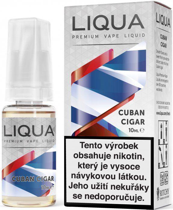 KUBÁNSKA CIGARA / Cuban Cigar - LIQUA Elements 10 ml exp.8/20