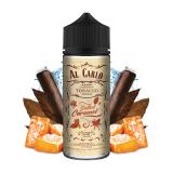 SALTED CARAMEL / Karamel & tabak - shake&vape AL CARLO 15 ml