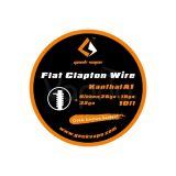 GeekVape FLAT CLAPTON odporový drôt Kanthal A1 Ribbon(26GAx18GA)+32GA, 3m
