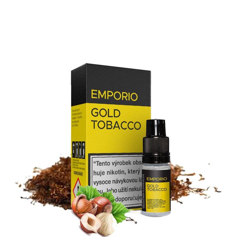 GOLD TOBACCO - e-liquid EMPORIO 10 ml EXP:12/20 Imperia