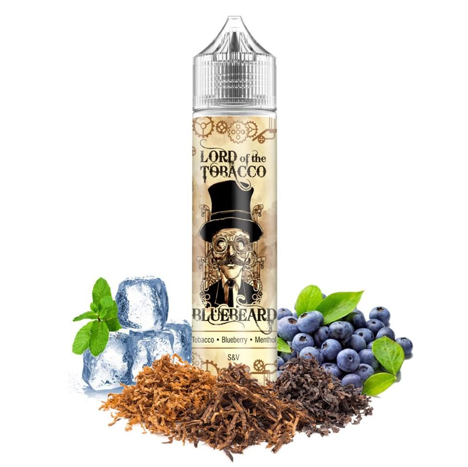 BLUEBEARD /tabak, čučoriedky, mentol/ - Lord of the Tobacco shake&vape 12ml Dream Flavor