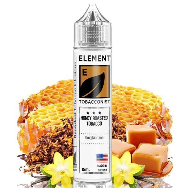 HONEY ROASTED TOBACCO / Tabak, med, pražené orechy, vanilka - Element shake&vape 15ml