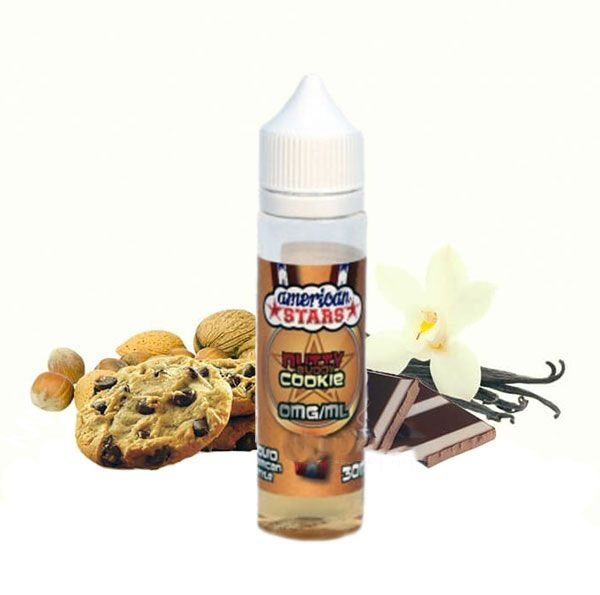 NUTTY BUDDY COOKIE - American Stars shake&vape 15ml Flavourtec