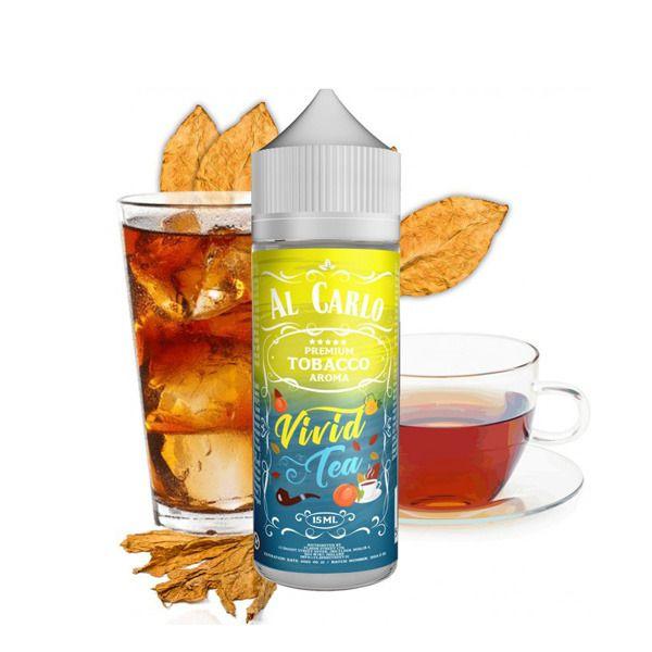 VIVID TEA / Ovocný čaj & tabak - shake&vape AL CARLO 15 ml