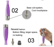 Clearomizer GS H2 (EVOD BCC PLAST) Green Sound