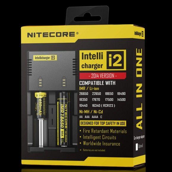 Nitecore i2 inteligentná nabíjačka 2 sloty SYSMAX Industry Co., Ltd.