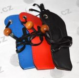 Kožené puzdro na krk pre elektronické cigarety