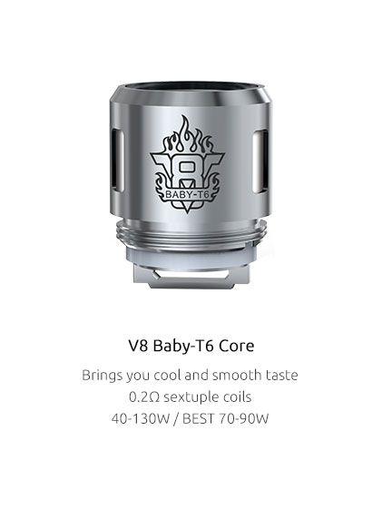 žhaviaca hlava pre TFV8 Baby - T6 (0.2ohm) SMOK