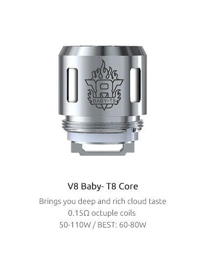 Žhaviaca hlava T8 pre TFV8 Baby - 0.15ohm SMOK