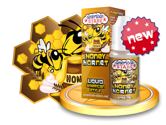 HONEY HORNET - e-liquid American Stars 10ml Flavourtec