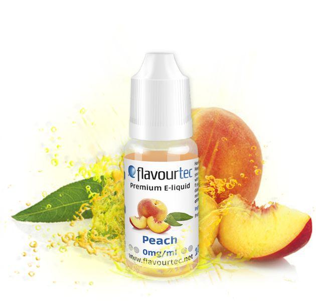 BROSKYŇA (Peach) - e-liquid FLAVOURTEC 10ml exp.:4/20