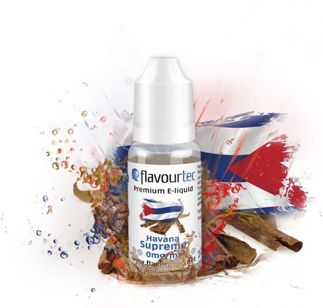 HAVANA SUPREME - e-liquid FLAVOURTEC 10ml