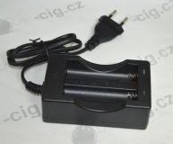 Dvojkanálová nabíjačka pre batérie 18650