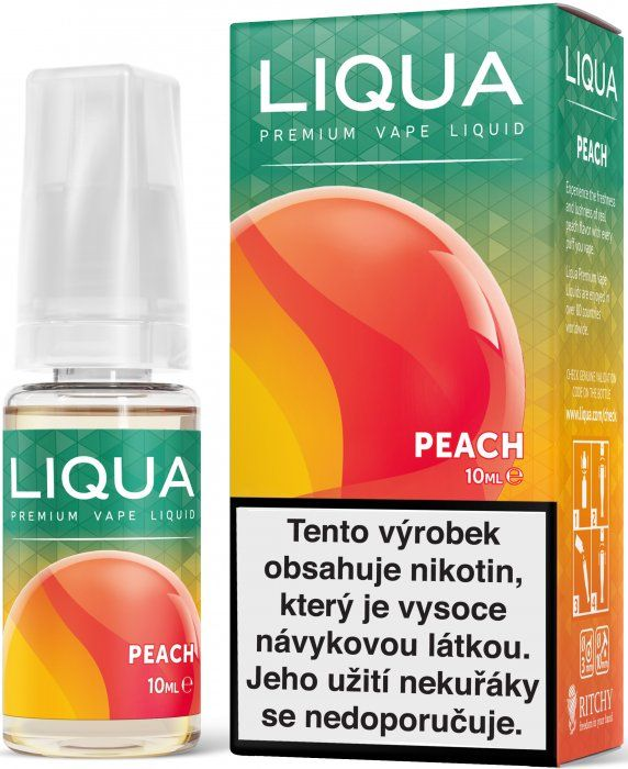 BROSKYŇA / Peach - LIQUA Elements 10 ml