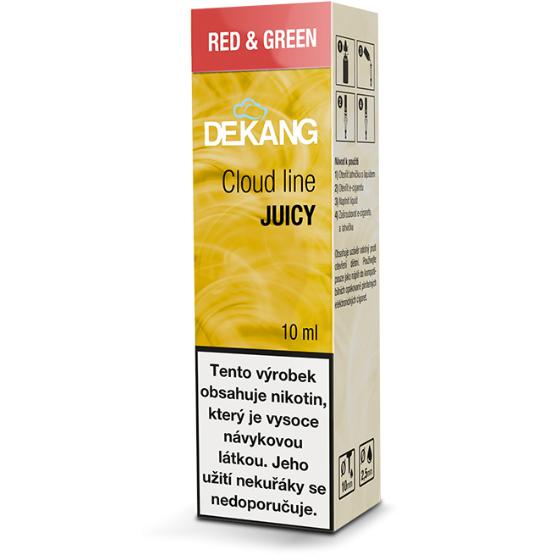 SLADKÉ A KYSLÉ JABLKO - Red and Green - Dekang Cloud Line 10 ml