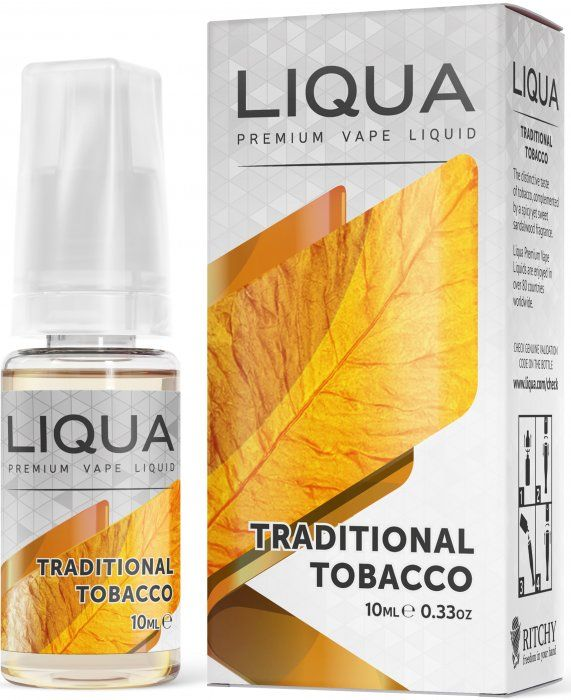 TRADIČNÝ TABAK / Traditional Tobacco - LIQUA Elements 10 ml
