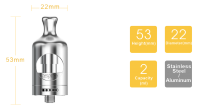 aSpire Nautilus 2 clearomizér - 2 ml