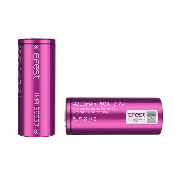 Batéria EFEST IMR 26650 - 4200mAh 50A IJOY