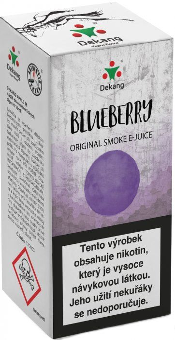 ČUČORIEDKA - Blueberry - Dekang Classic 10 ml