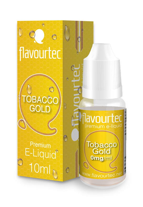 TOBACCO GOLD - eliquid FLAVOURTEC 10ml