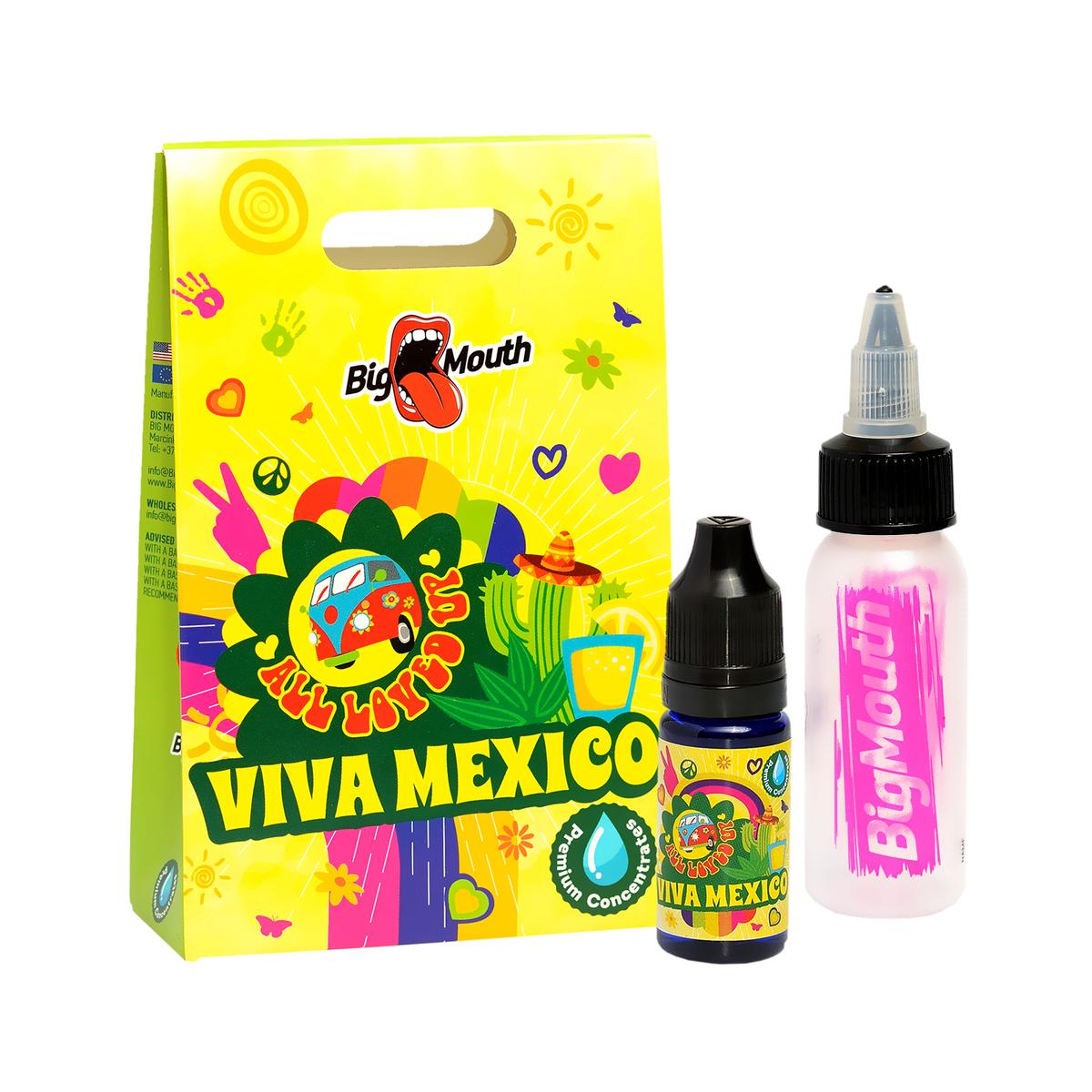 KAKTUS, DRAČIE OVOCIE, ALOE (Viva Mexico) - aróma Big Mouth ALL LOVED UP