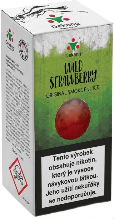 LESNÁ JAHODA - Wild Strawberry - Dekang Classic 10 ml