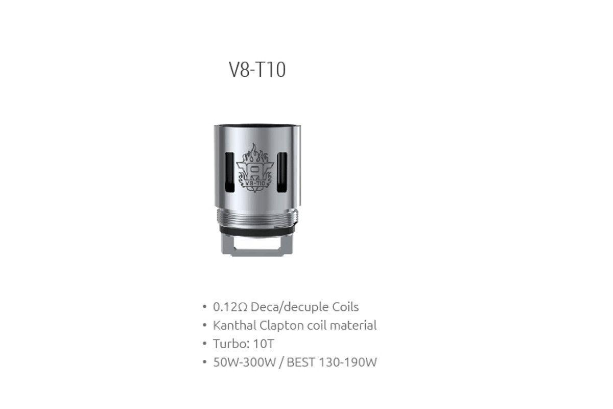 Žhaviaca hlava V8-T10 pre Smok TFV8 Cloud Beast Tank - 0,12 ohm