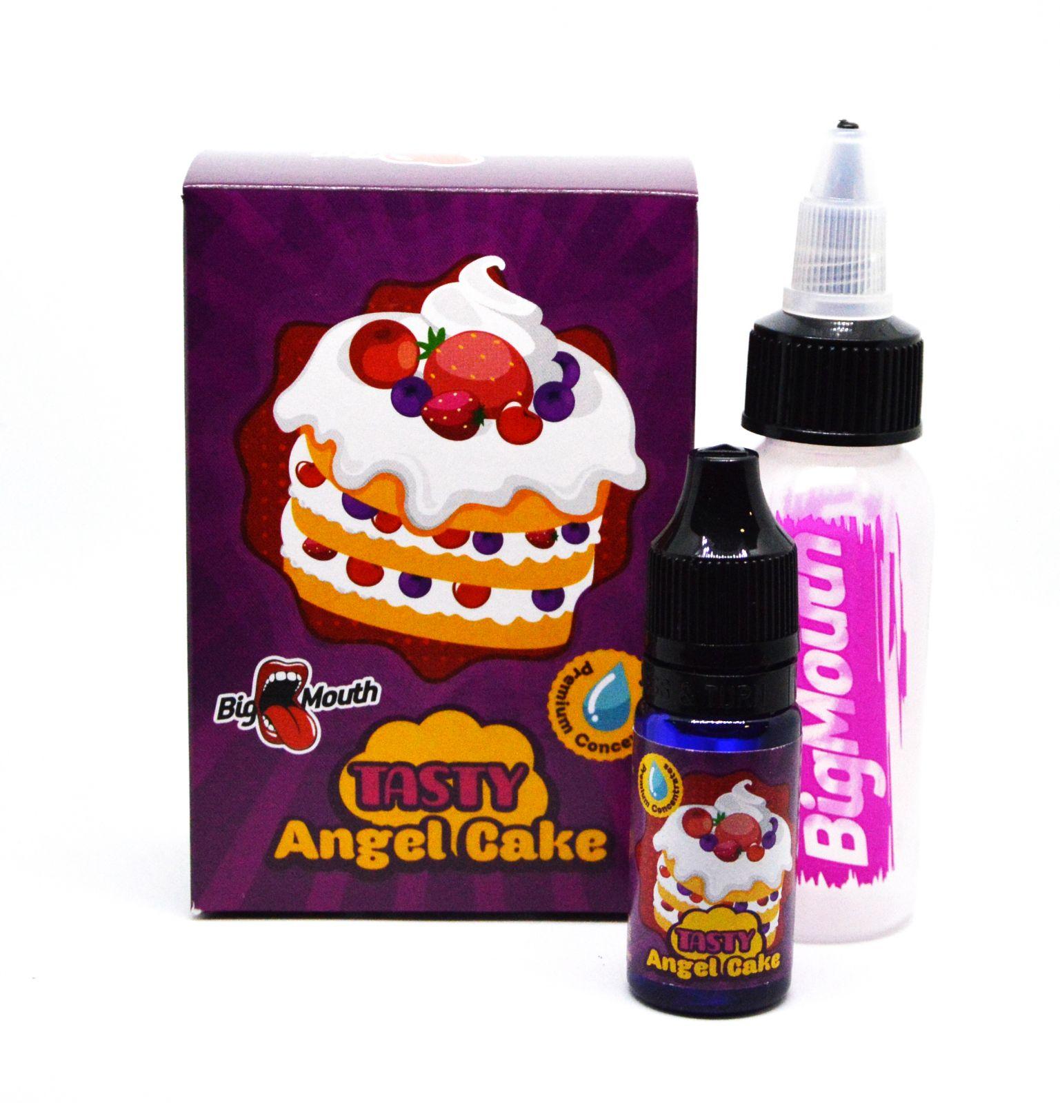 KRÉMOVÁ TORTA (Angel Cake) - aróma Big Mouth TASTY