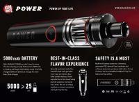 Aramax POWER Kit 5000 mAh - čierna