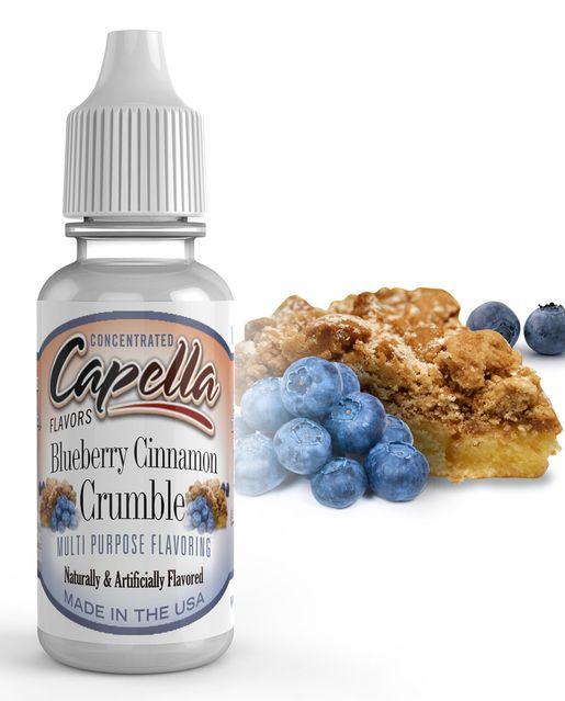 ČUČORIEDKOVÝ KOLÁČ / Blueberry Cinnamon Crumble - Aróma Capella