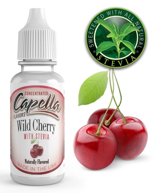 VIŠNĚ SO STÉVIOU / Cherry Wild with Stevia - Aróma Capella