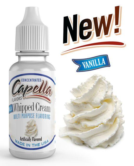 VANILKOVÁ ŠLEHAČKA / Vanilla Whipped Cream - Aróma Capella