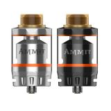 GeekVape AMMIT 25 RTA Dual coil | strieborná, čierna