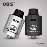 OBS CHEETAH RDA 22mm | strieborná, čierna