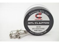 Coilology MTL CLAPTON špirálky Ni80 28GA/40GA, 0,92?, 10ks