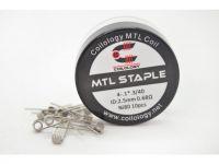 Coilology MTL STAPLE špirálky Ni80 4-.1*.3/40GA 0,68? - 10ks